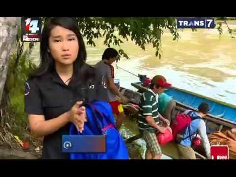 INDONESIAKU - Ekspedisi Sungai Kapuas Kalimantan Barat.