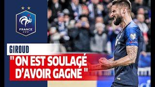 Réaction d Olivier Giroud Equipe de France I FFF 2019