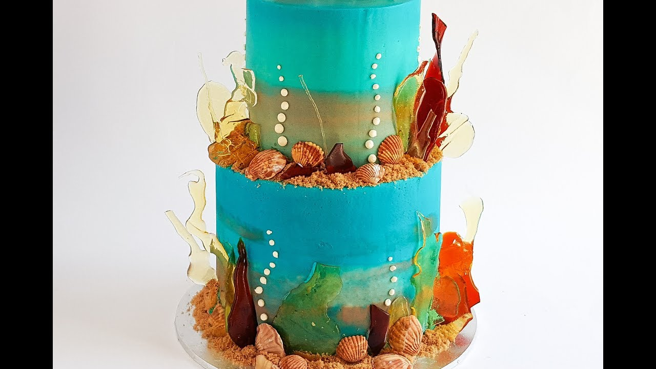Under The Sea Cake Rosie S Dessert Spot Youtube