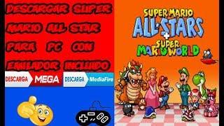 DESCARGAR | SUPER MARIO ALL STAR | PARA PC CON EMILADOR INCLUIDO // MEGA - MEDIAFIRE