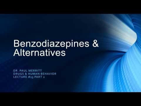 Sedative Hypnotics - Benzodiazepines