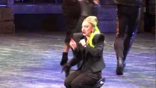 Lady Gaga Injured Herself During Scheiße Live Montreal 2013 HD 1080P