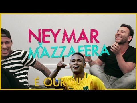 Neymar vs Mazzafera - Moda vs Futebol | #HotelMazzafera
