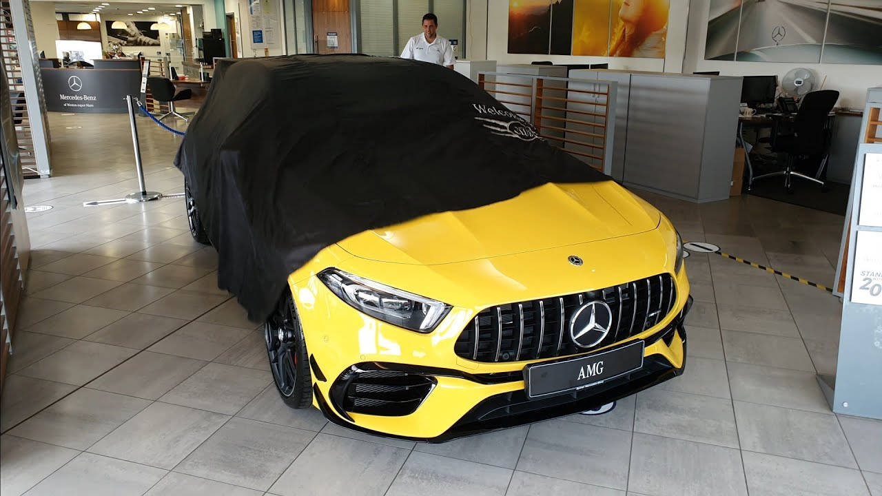 Collecting our NEW Mercedes AMG A45S Plus!