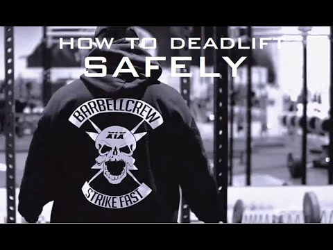 Deadlift Tutorial with Kbooey - Watch Your Back thumbnail