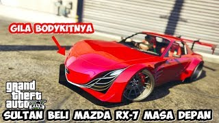 SULTAN BELI MAZDA RX-7 MASA DEPAN LANGSUNG MODIF | GTA 5 MOD SULTAN