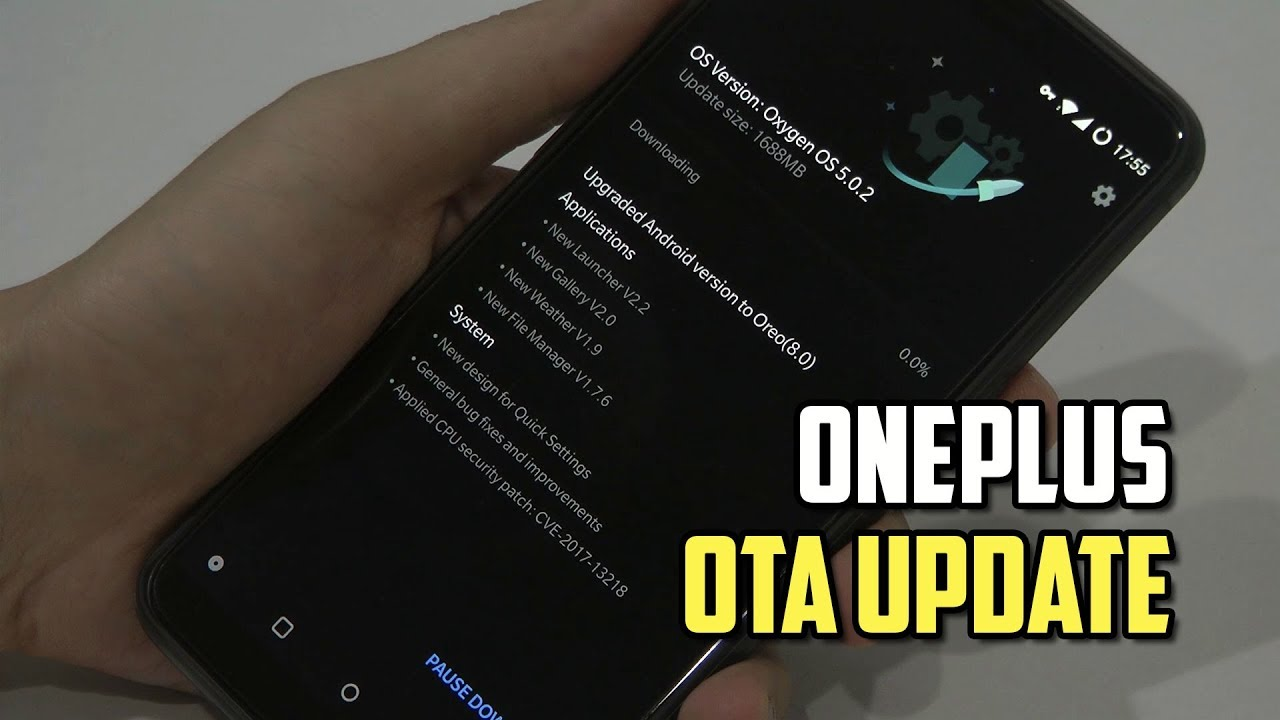 How to Force OnePlus OTA Firmware Update?