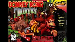 Donkey Kong Country - Part 2 (SNESGUY) Live Stream
