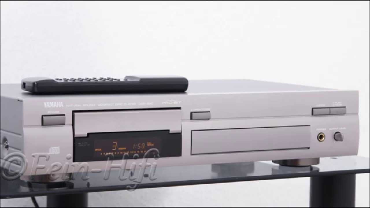 Yamaha CDX-890 CD-Player - Natural Sound by Fein Hifi Online Shop
