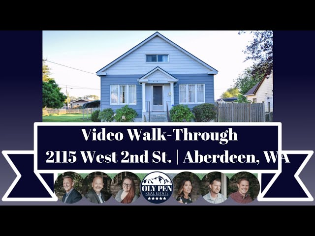 2115 W 2nd St | Aberdeen, WA | Video Walk-Through