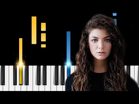 Lorde - Liability - EASY Piano Tutorial