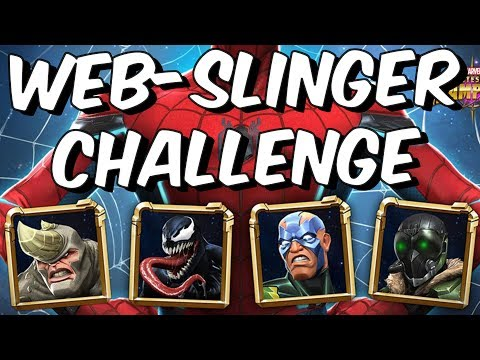 Web-Slinger Challenge - Full Final Chapter Clear!  - Marvel Contest Of Champions