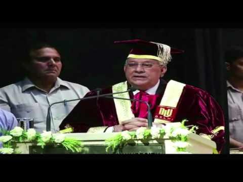 3rd Annual Convocation - 2015 National Law University, Delhi