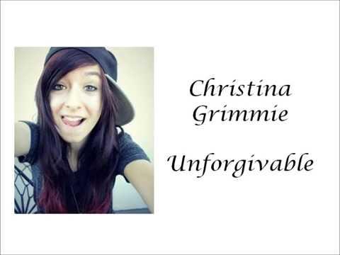 Christina Grimmie - Unforgivable (Lyrics)