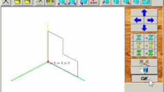 超簡易3Dエディタ「立体グリグリ」V3.3での3次元作図の基本操作のビデ...
