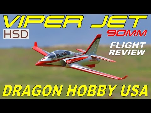 Dragon Hobby / HSD 90mm Viper Jet Full Flight Review By: RCINFORMER