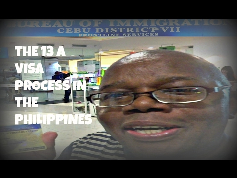 The 13A Visa Process In The Philippines