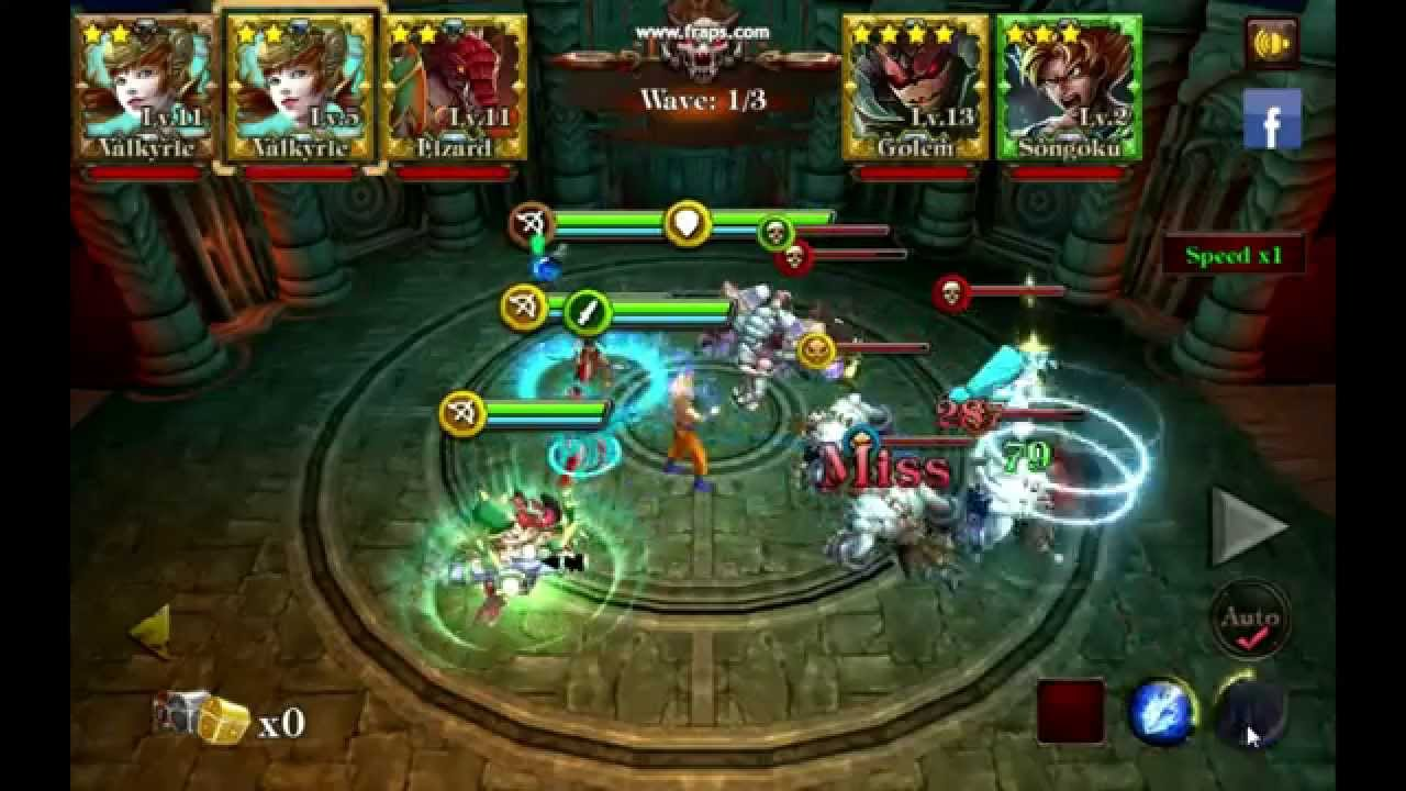 League of Demigods mobile game , 3d card battle with super heroes ...