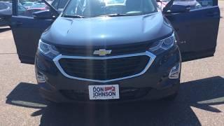2018 Chevrolet Equinox AWD Storm Blue LT (H18014)