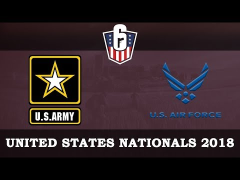 US Army vs Air Force @Bank | Rainbow6 VODs | US Nationals 2018 - Finals (16.12.2018)