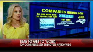 Cheryl Casone on Five Companies Hiring Now
