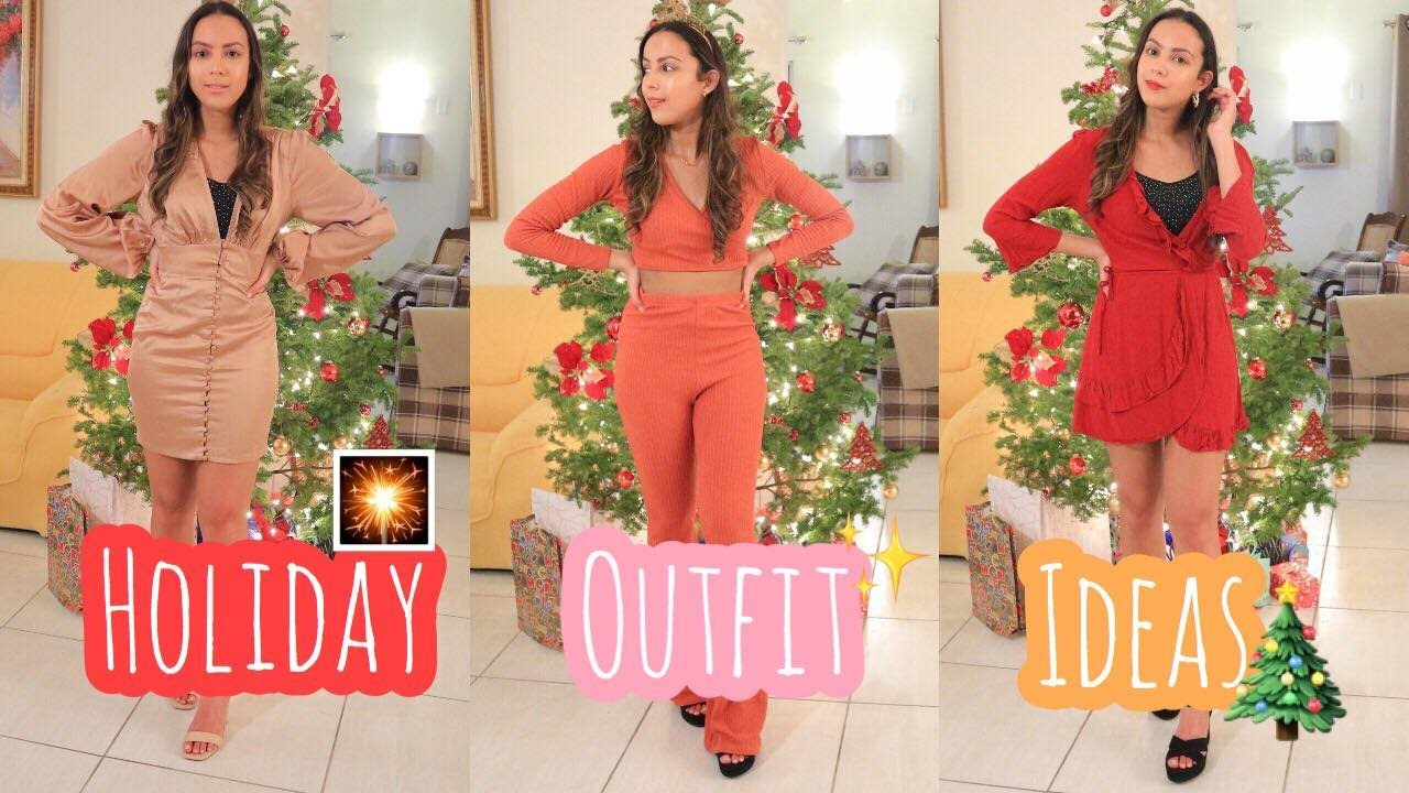 [VIDEO] - Outfit Ideas for the Holidays! Lookbook ✨ 1