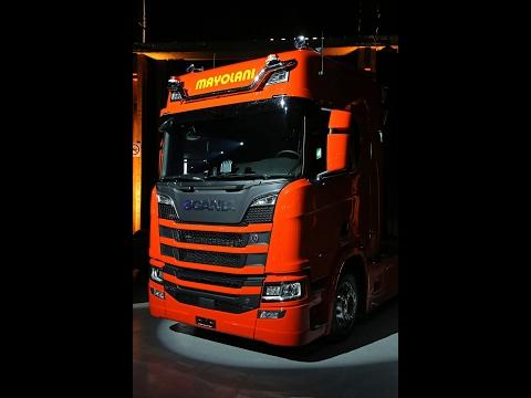Scania Kundenporträt: A. + J. Mayolani Transporte AG