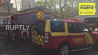 Spain: Worker dead, at least 11 injured in Ritz Hotel scaffolding collapse