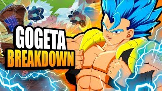 Gogeta Breakdown! Dragon Ball FighterZ Tips & Tricks