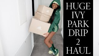 Beyoncé Ivy Park X Adidas Drip 2  Haul And Try On  XXXS Review