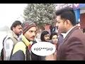Reporter ko di public ne gaali  funny hindi  whatsapp viral