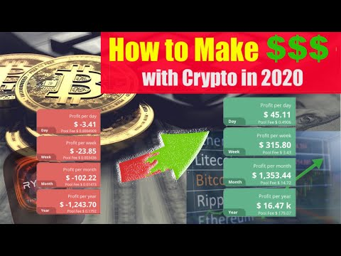 HOW TO MAKE MONEY WITH CRYPTO 2020