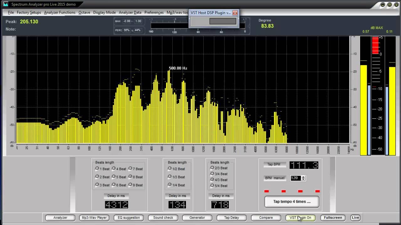 Spectrum Analyzer Software