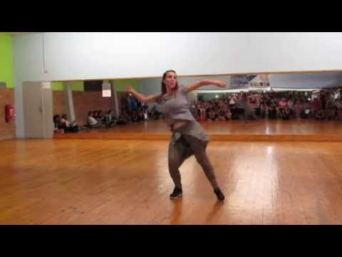 Michelle Oppenshaw Locking Freestyle Solo - Locking4Life - Bruno Mars Uptown Funk