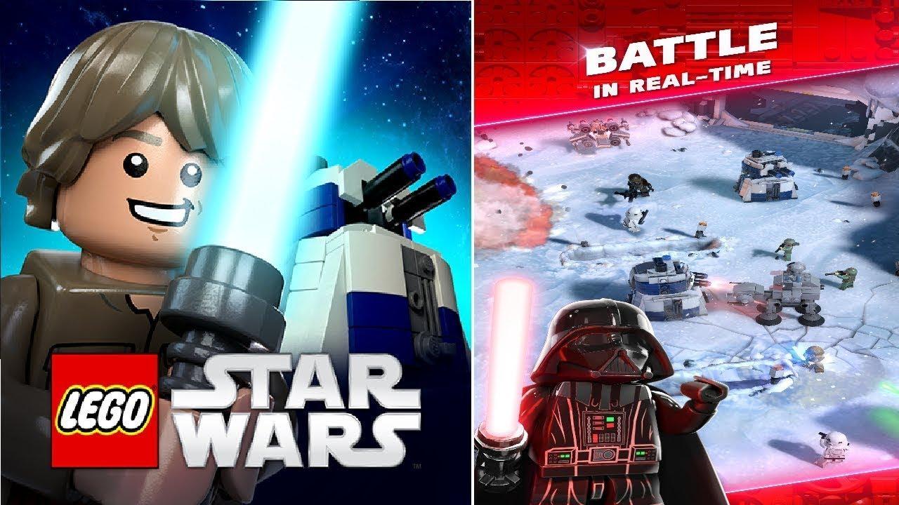 new game lego star wars battle gameplay tutorial  youtube