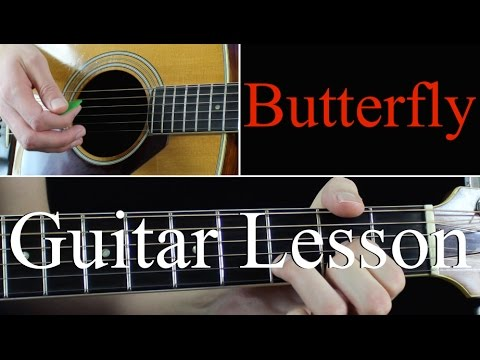 Butterfly - Guitar Lesson Tutorial - Weezer - YouTube