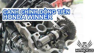 Video 112: dạy sửa xe nguyên lý và cách canh đồng tiền Honda winner 150. | MotorcyclesTV