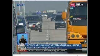 H-4 Lebaran, Sejumlah Ruas Tol Alami Penurunan Volume Kendaraan - SIS 11/06