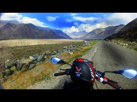 Bike tour to Khunjarab on Derbi 150 cc
