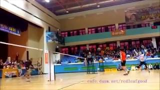 Best defence tactics against extreme smashing in Badminton Doubles