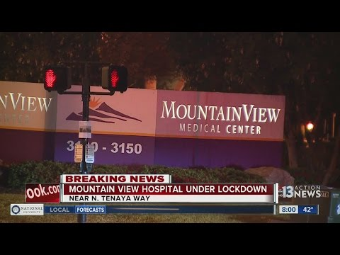 MountainView Hospital under lockdown