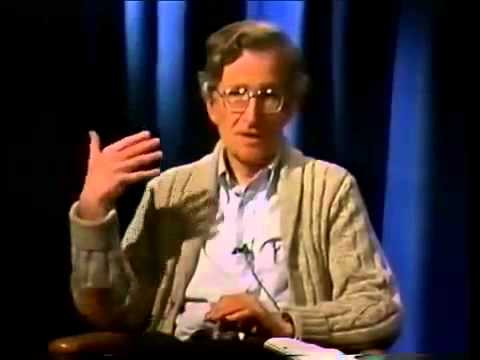 Noam Chomsky  Thought Control In Democratic Societies  NEW!