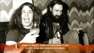 Mion entrevista Ozzy Osbourne e mostra funk brasileiro ao príncipe das trevas #arquivolegendários
