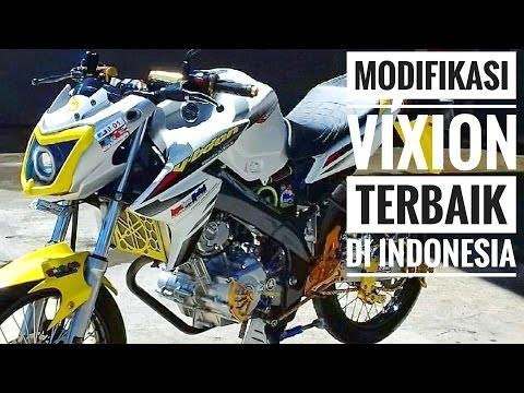 Modifikasi Yamaha Vixion 150. Inspirasi.