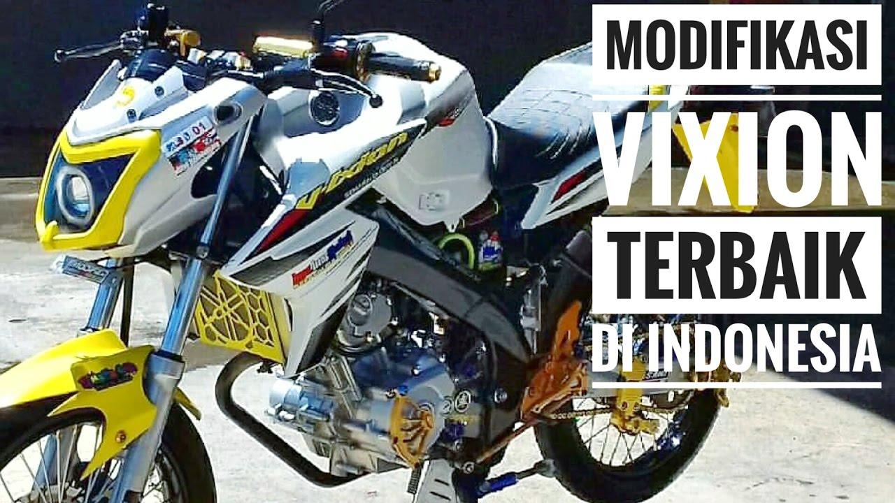 Gambar Modifikasi Motor Vixion Terbaik Modifikasi Motor