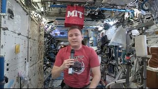 NASA Astronaut Discusses Life in Space with his Alma Mater