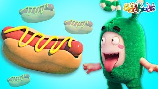 Download Video Oddbods | HOT DOG | The Oddbods Show | Funny Cartoons For Children MP3 3GP MP4
