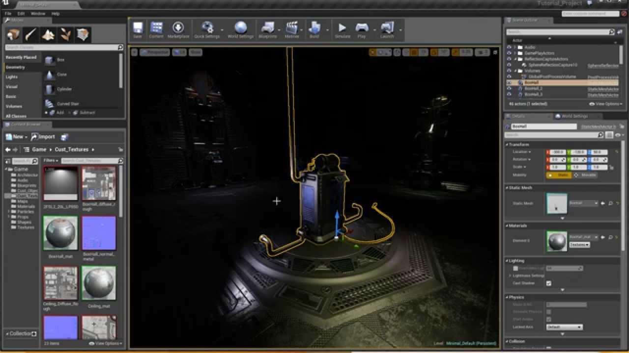 Substance Designer In Unreal Engine