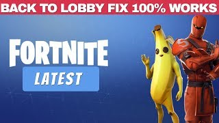 How to get Fortnite on Incompatible Android Devices | Latest 2019 Back to Lobby Fix | Fortnite 8.30