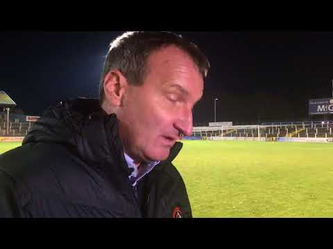 Csaba Làszló's post match interview after the 2-0 win at Morton